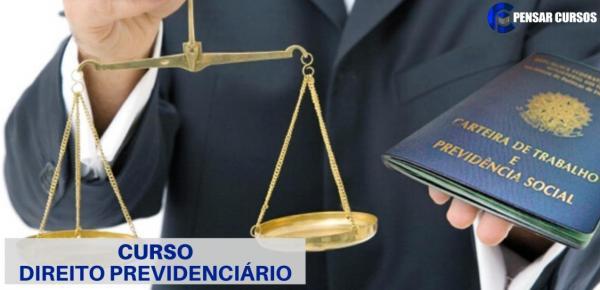 Saiba mais sobre o curso Direito Previdenciário