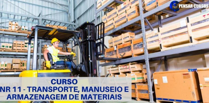 NR11 - Transporte e Manuseio de materiais