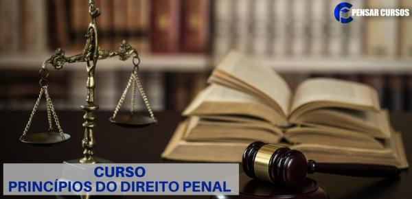 Saiba mais sobre o curso Princípios do Direito Penal
