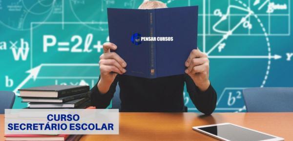 Saiba mais sobre o curso Secretário Escolar