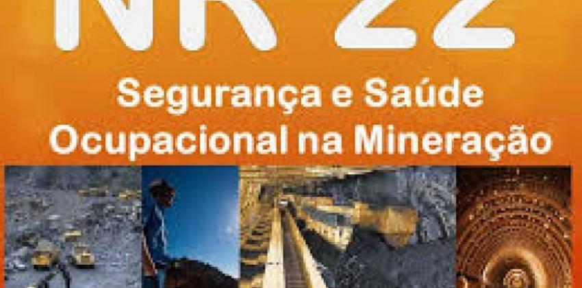 Segurança e Saúde Ocupacional na Mineração   NR 22