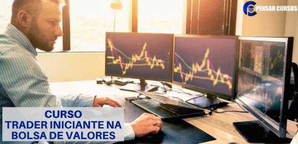 Saiba mais sobre o curso  Trader Iniciante na Bolsa de valores